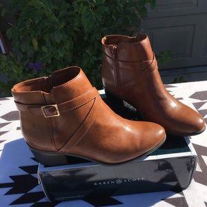 New Karen Scott ankle booties